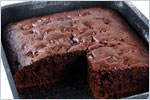 Chocolate Sultana Cake