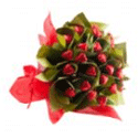 Chocolate Hearts Flower Bouquet from BigPond Shopping