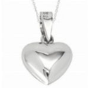 Heart Pendant Necklace from BigPond Shopping