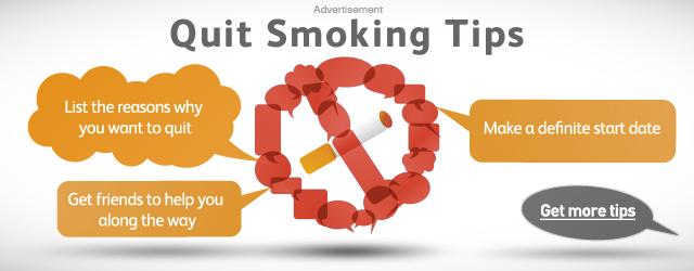 tips to quit smoking pdf